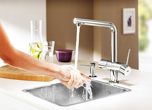 Фото Дозатор Grohe Cosmopolitan 40535000 на tiptop-shop.ru